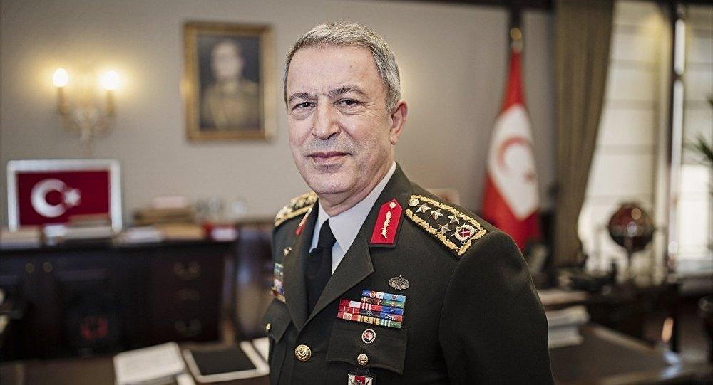 Milli Savunma Bakanı Akar: Fırat'ın doğusuna devriye üsleri kuracağız
