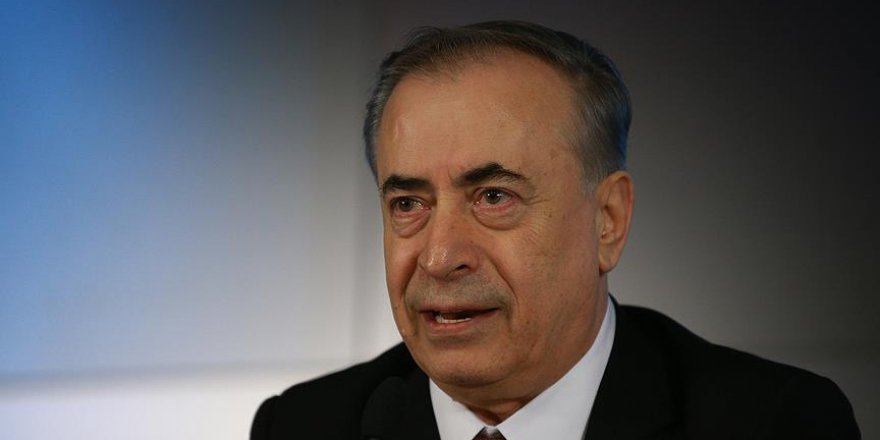 Galatasaray Başkanı Cengiz'den 'teşekkür' mesajı