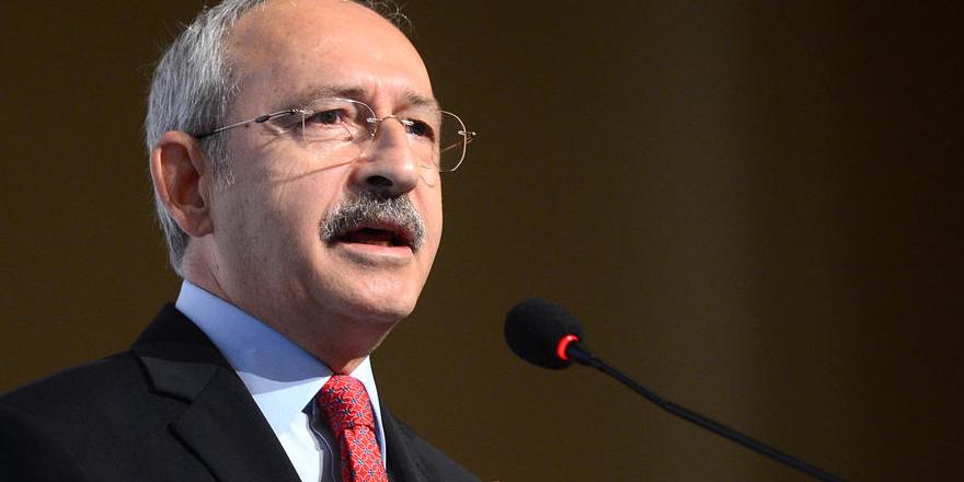 CHP Genel Başkan Kılıçdaroğlu: ABD teröre karşı net tavır takınmalı