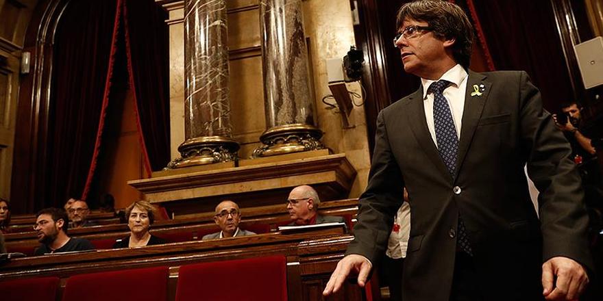 Katalonya Parlamentosu Puigdemont'un başkanlığını oylayacak