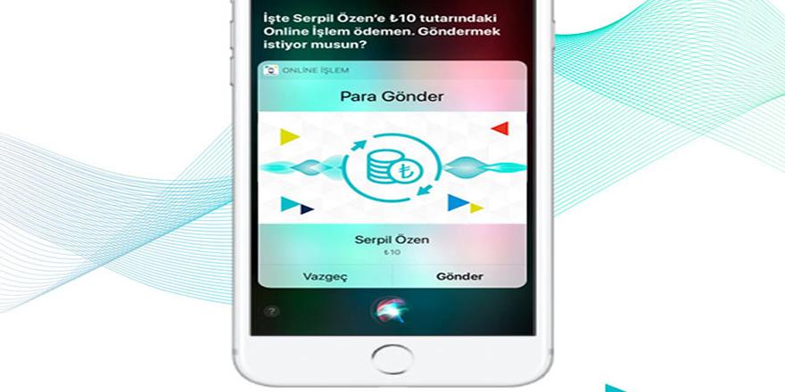 Türk Telekom'dan Siri ile Lira Gönderme Teknolojisi