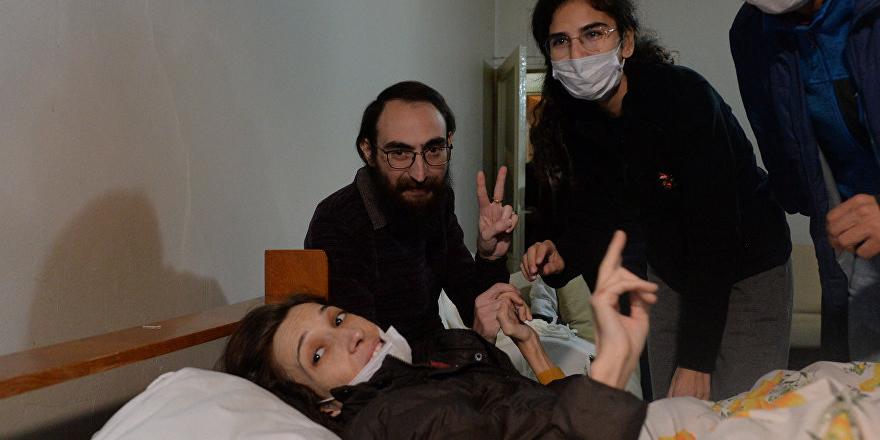 Nuriye Gülmen: Açlık grevini sonlandırıyoruz
