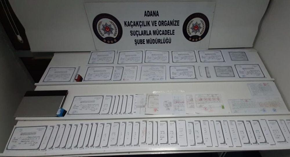 Adana'da sahte diploma operasyonu: 2 tutuklama