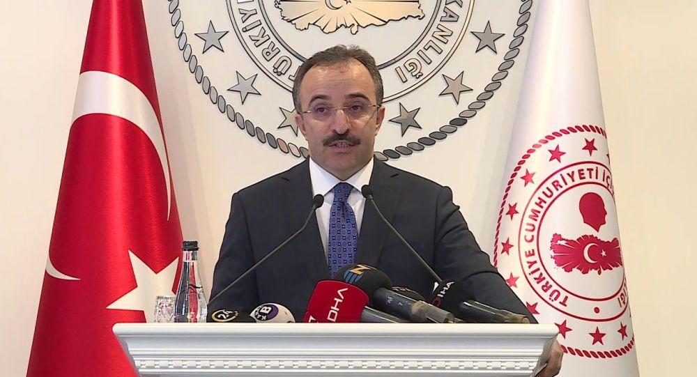 İçişleri Bakanlığı Sözcüsü Çataklı: ABD'li bir yabancı terörist Türkiye'den sınır dışı edildi