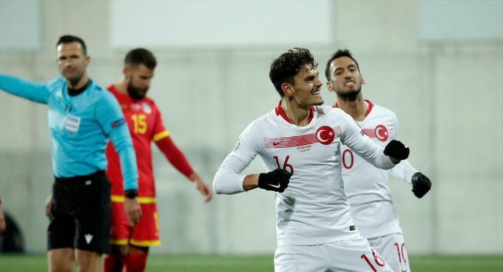 Türkiye-Andorra maçı: Enes'in penaltı golüyle skor 2-0 oldu