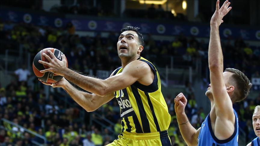 THY Avrupa Ligi'nde 12. haftanın MVP'si Fenerbahçe Beko'dan Sloukas