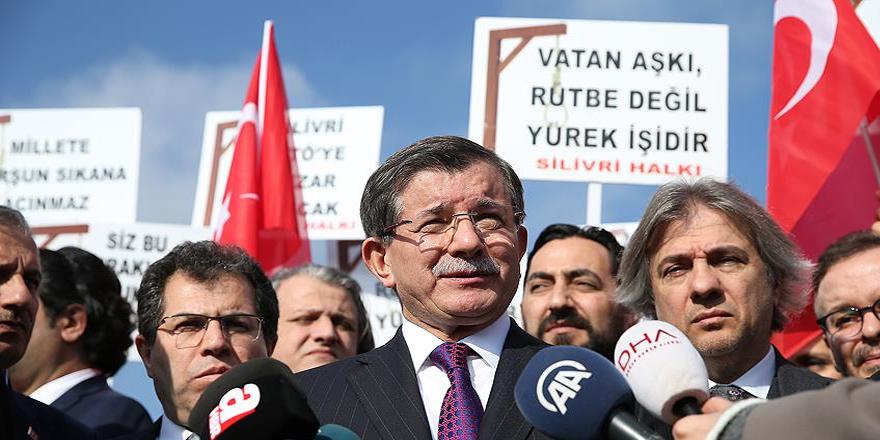 Davutoğlu: FETÖ'ye gereken cezalar verilecektir