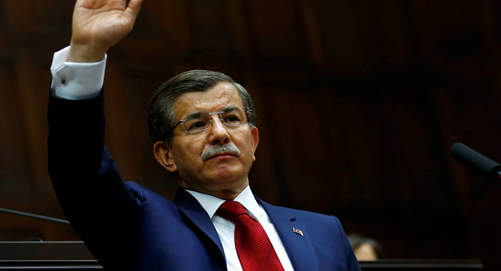 Davutoğlu partisinin kuruluş başvurusunu yaptı
