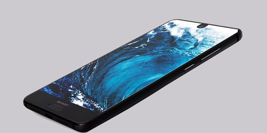 Sharp'ın yeni akıllı telefonu resmen tanıtıldı