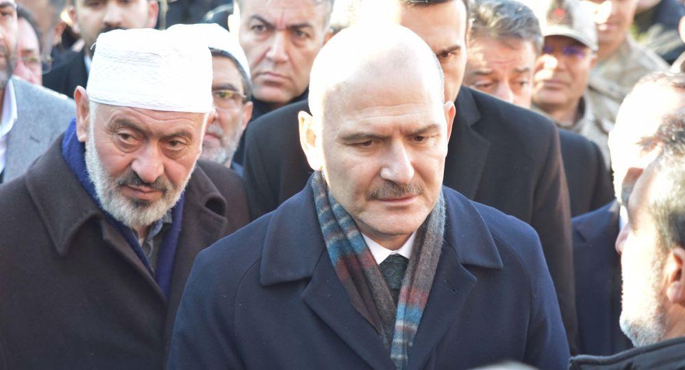 Soylu'dan Nakşibendi şeyhi Çevik'in ailesine taziye ziyareti