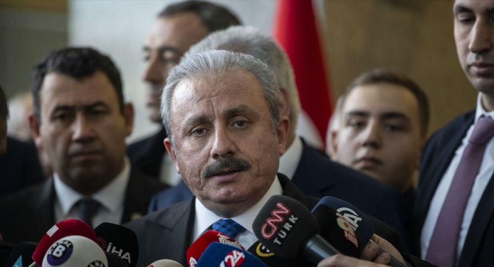 TBMM Başkanı Şentop'tan Davutoğlu'na 'dokunulmazlık' yanıtı