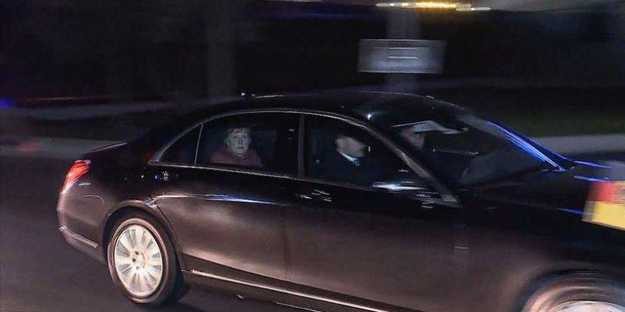 Almanya Başbakanı Angela Merkel İstanbul'da