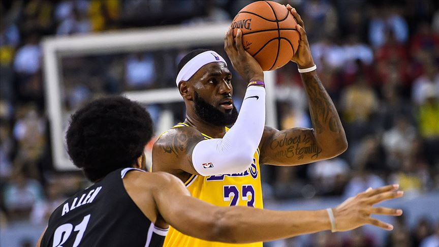 NBA All-Star'da ilk 5'ler belirlendi