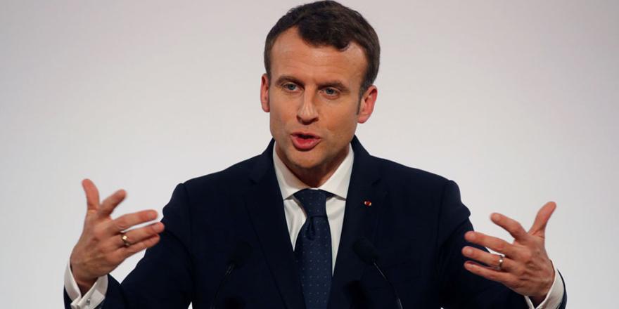 Fransa Cumhurbaşkanı Macron'dan Afrin açıklaması