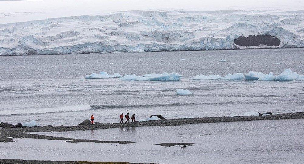 Antarktika'da rekor sıcaklık