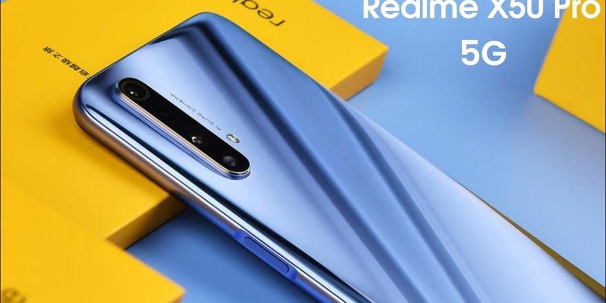 realme X50 5G Pro geliyor