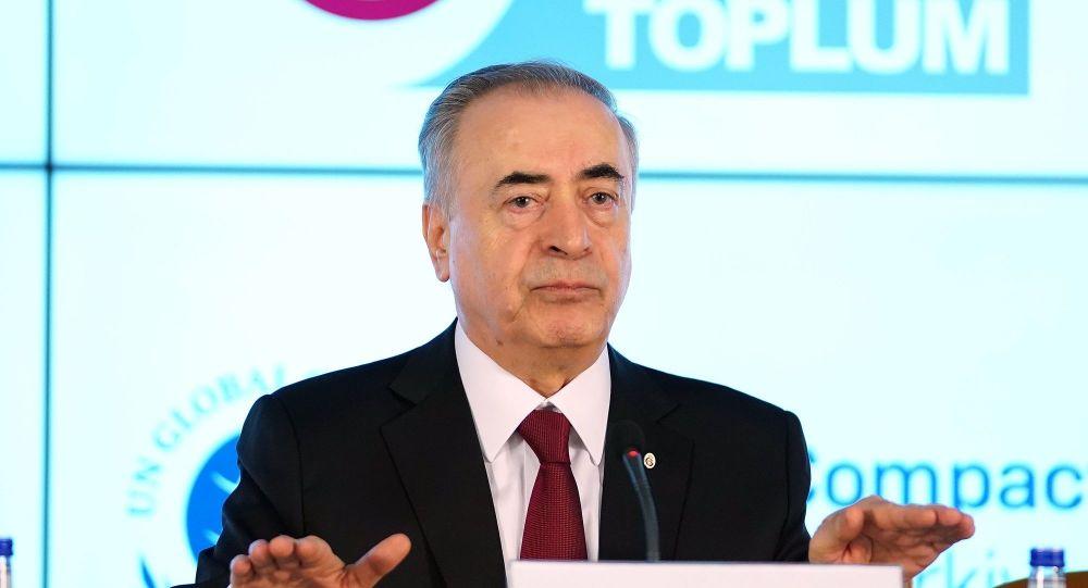 Galatasaray Başkanı Cengiz'den Ali Koç'a tepki: Olay Moskova'da geçmiyor