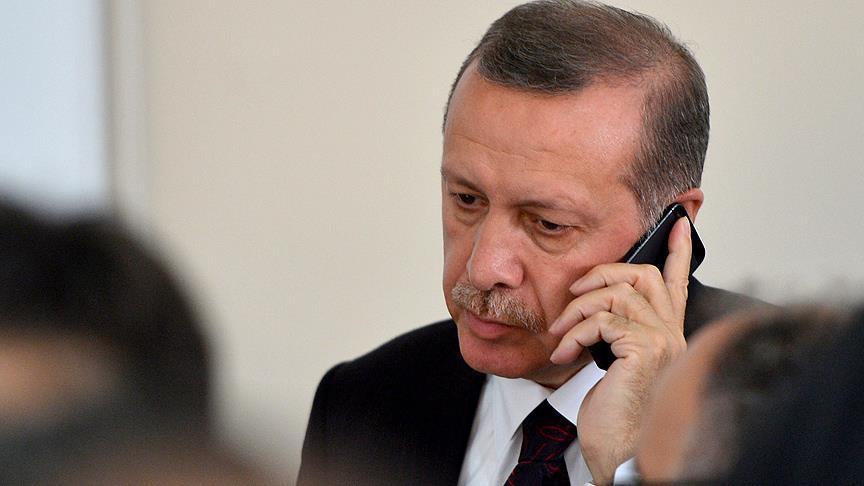 Erdoğan, Merkel ve Macron ile telefonda görüştü