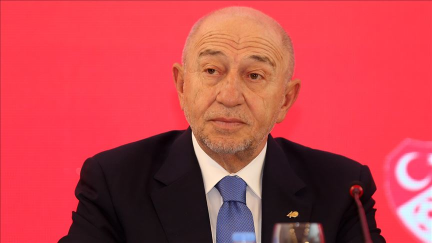Türkiye Futbol Federasyonu Başkanı Nihat Özdemir: Türk milletinin başı sağolsun
