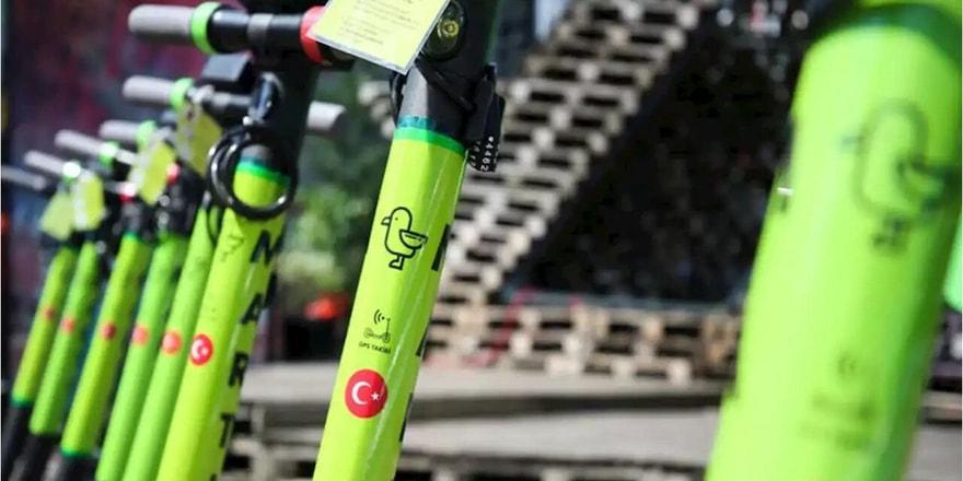 Martı elektrikli bisiklet hizmeti sunmaya başladı