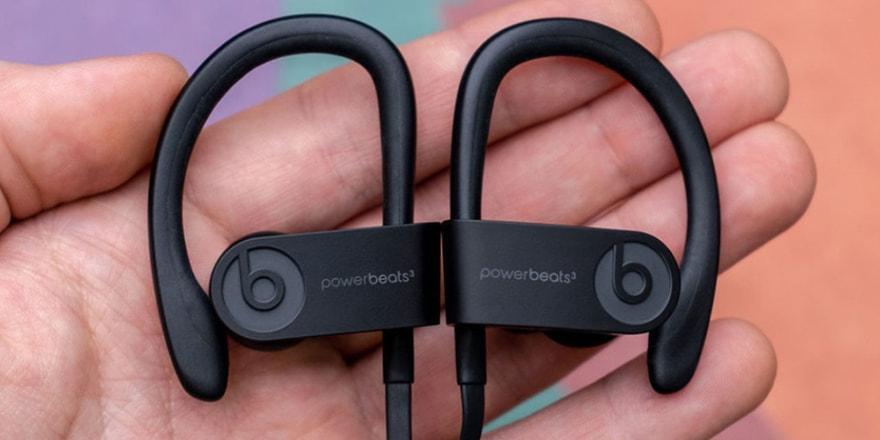 İşte yeni iPhone kulaklığı! Apple Powerbeats4!