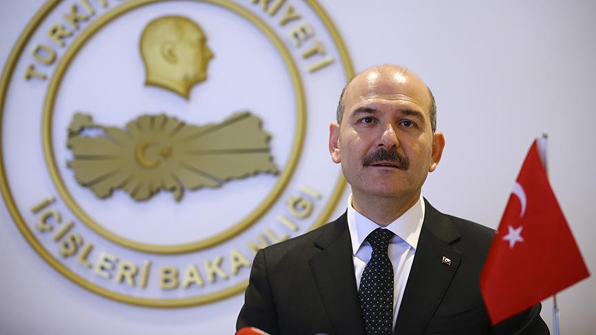 Soylu: Miçotakis'in sınırları tutma gibi bir kabiliyeti yok