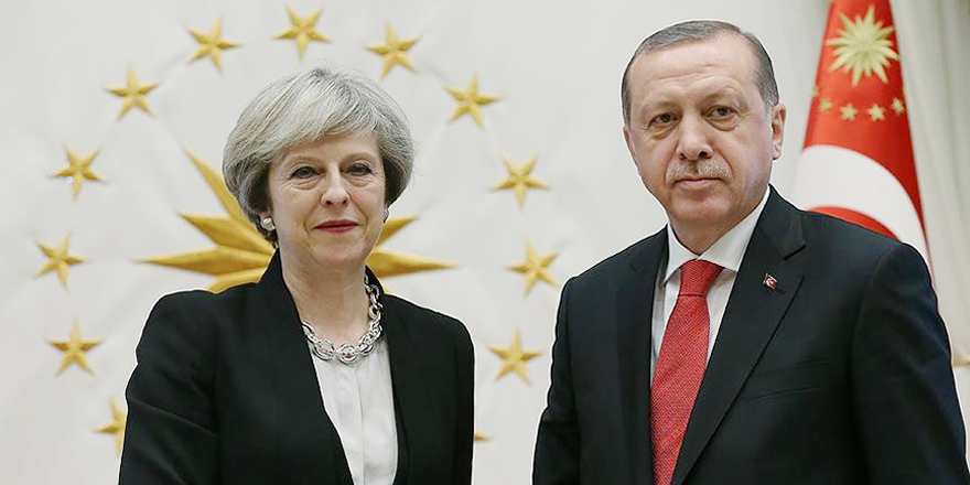 Cumhurbaşkanı Erdoğan ile May Kudüs'ü görüştü
