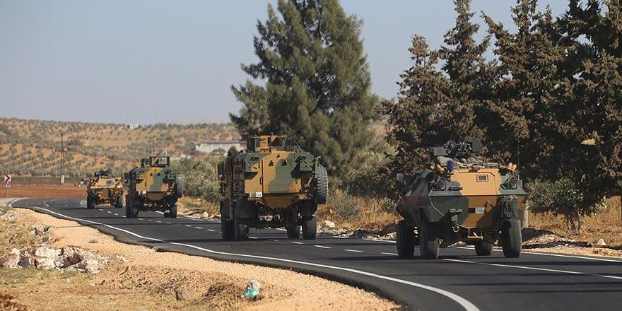 TSK konvoyu İdlib gerginliğini azaltmak için harekete geçti