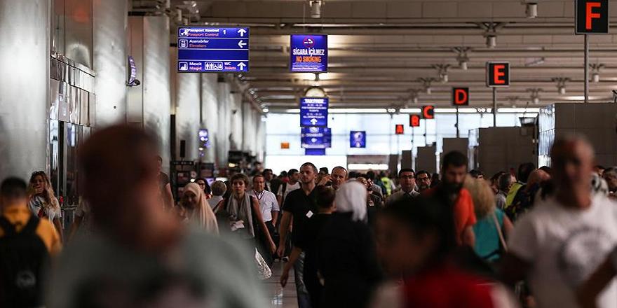 Yarıyıl tatilinde 3 milyon yolcu Atatürk Havalimanı'nı kullandı