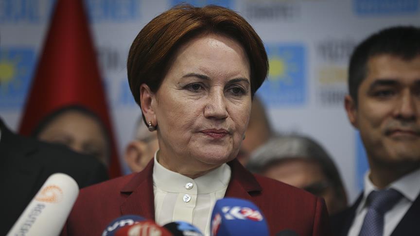 Akşener İstanbul ve Ankara'ya 3'er maaşını bağışladı