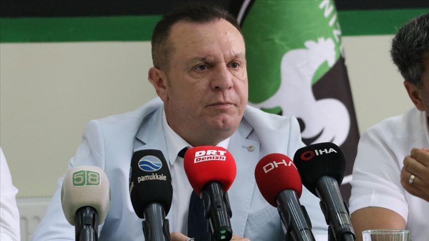 Denizlispor Başkanı Ali Çetin: Kulüplerin borçları ertelenmeli