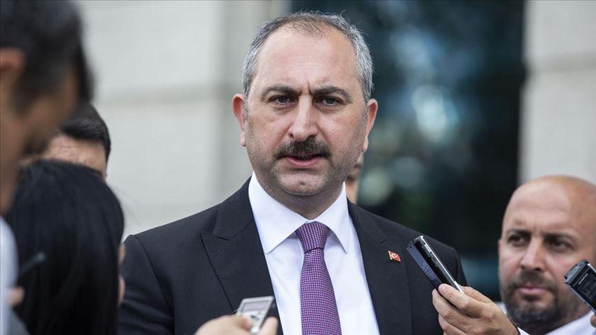 Adalet Bakanı Gül: 12 hakim ve savcı ile 55 personelin testi pozitif çıktı