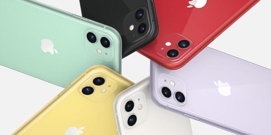 iPhone 11 de iPhone XR'ın izinden gidiyor