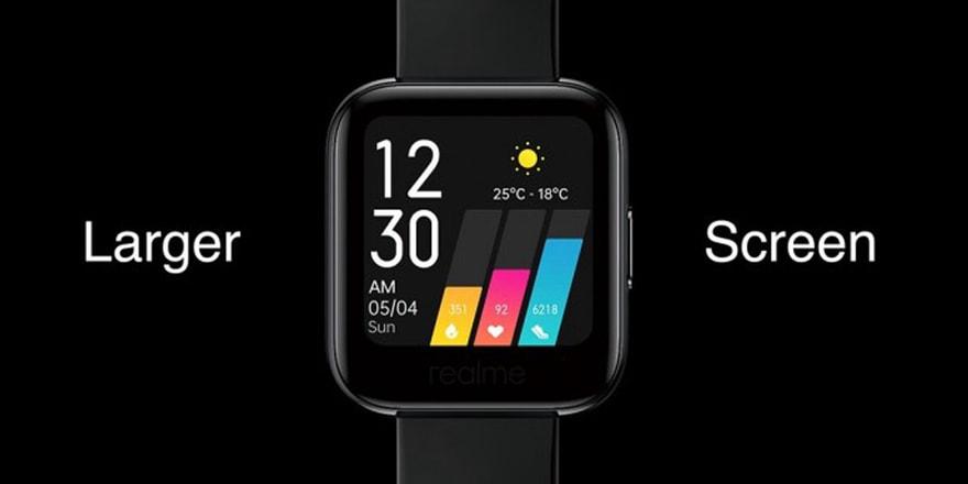 Apple Watch'a uygun fiyatlı rakip! realme Watch tanıtıldı!