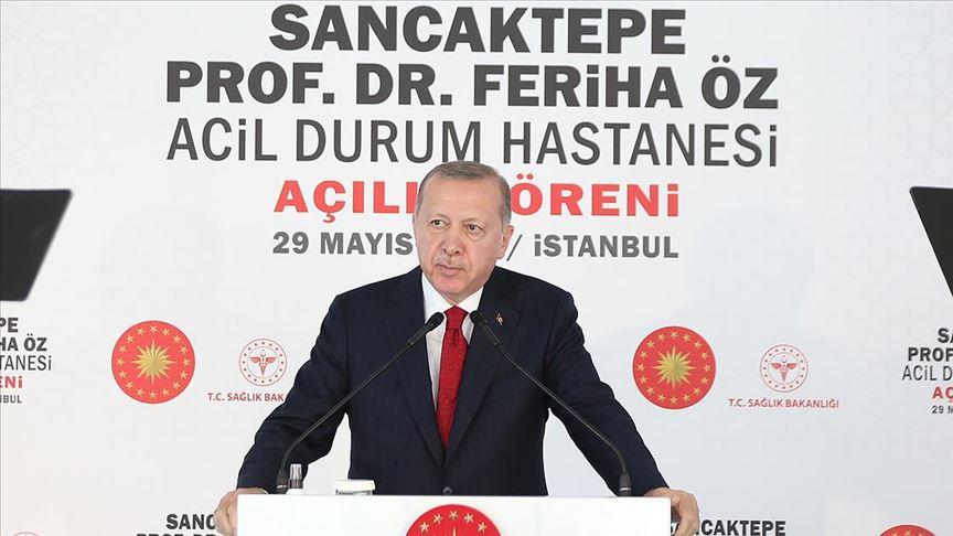 """""""Gençlerimize 2053 için büyük ve güçlü Türkiye'yi bırakmakta kararlıyız"""""""