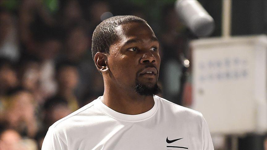 Kevin Durant NBA sezonunun kalanında forma giymeyecek