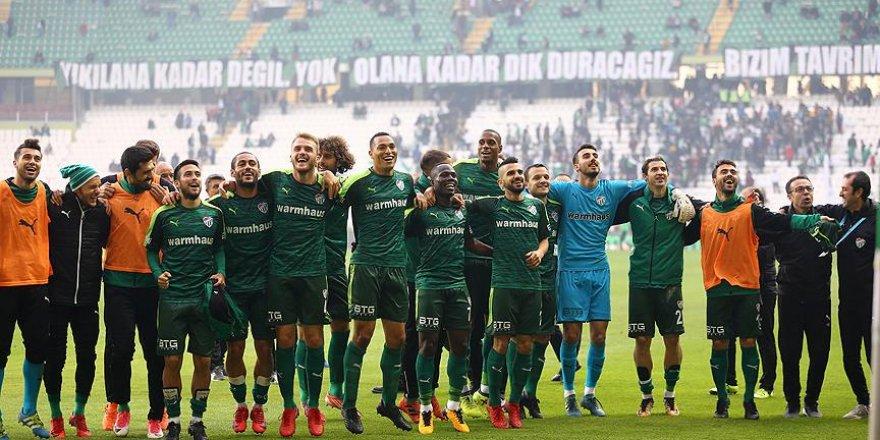 Bursaspor'un ilk 7'ye karşı galibiyeti yok