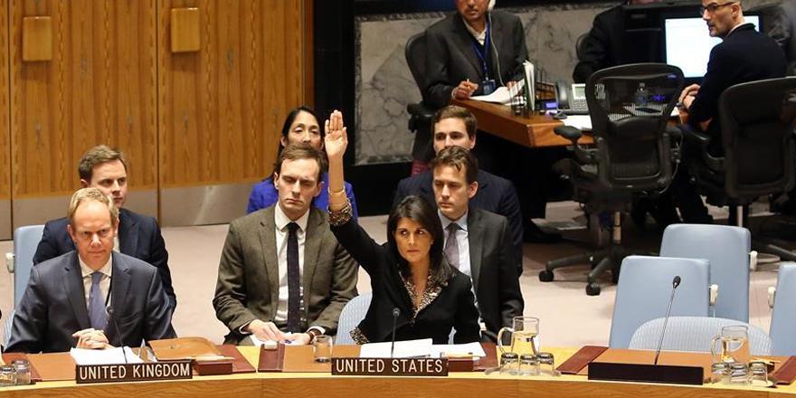 'ABD Kudüs konusunda BM üyelerini uyardı' iddiası
