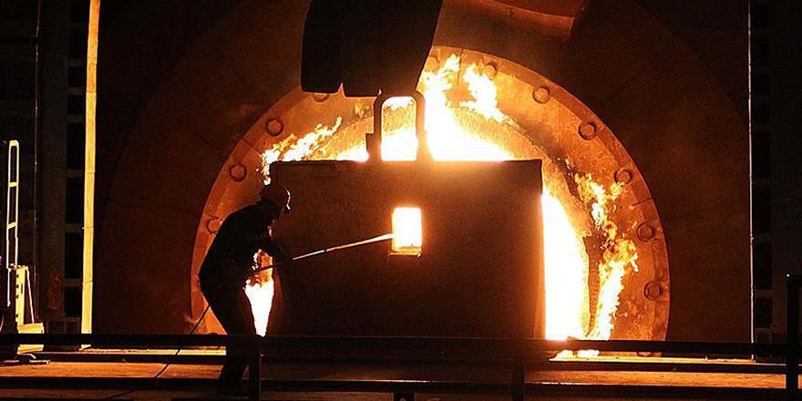 Türkiye'nin çelik üretiminde çift haneli artış