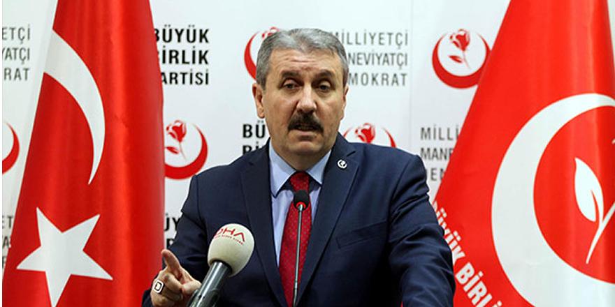 Destici: Hükümet, Türk-İş'in asgari ücret teklifini gözü kapalı kabul etmeli