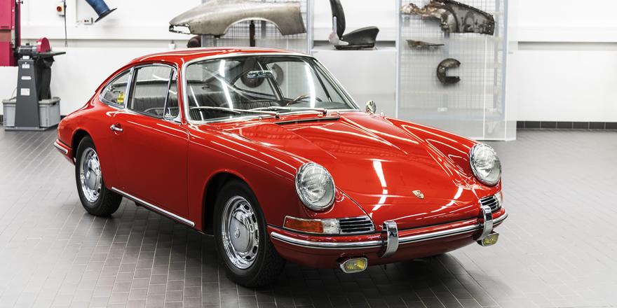 Porsche müzesindeki en eski 911'i ilk kez gün yüzüne çıkardı