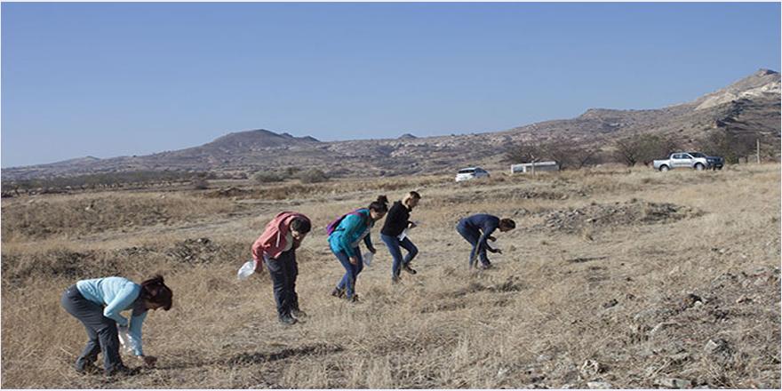 Kapadokya'da Erken Tunç Çağı'na ait antik yerleşim yeri bulundu
