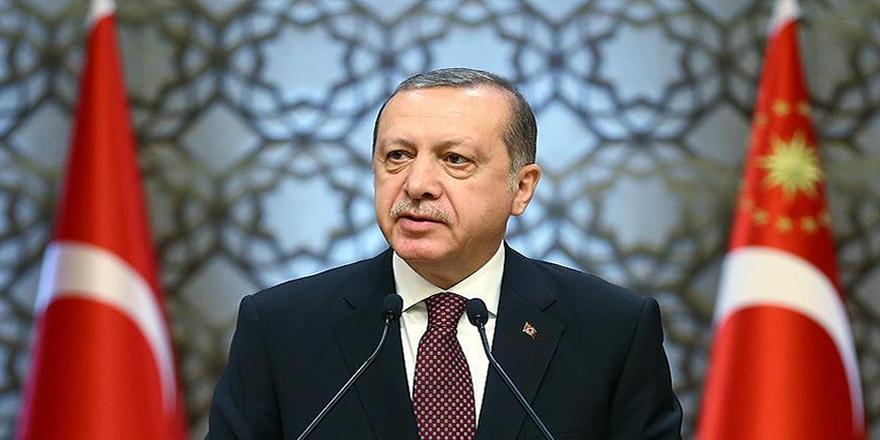 Cumhurbaşkanı Erdoğan: Karar tasarısının kabul edilmesini memnuniyetle karşılıyoruz