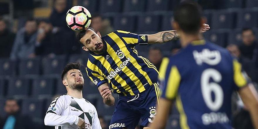 Fenerbahçe ile Atiker Konyaspor 33. maça çıkıyor