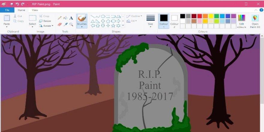 Microsoft'tan Paint için yeni uyarı
