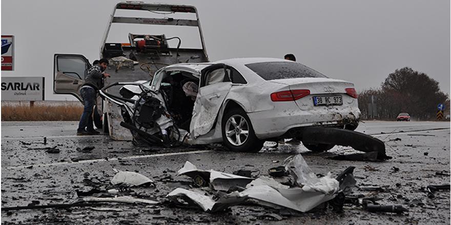 Eskişehir'de feci kaza! 2 ölü 2 yaralı