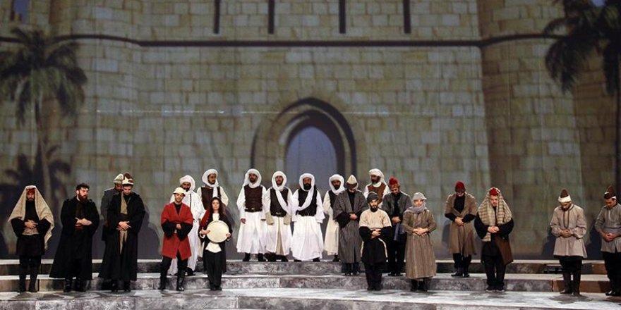 'Kudüs'ün Zamanı' sahneye taşınıyor