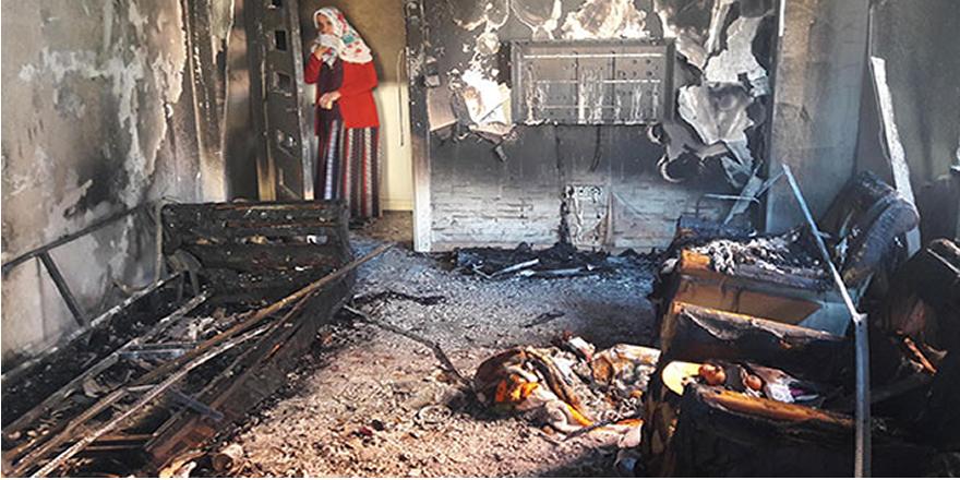 Patlayan elektronik sigara yangına neden oldu
