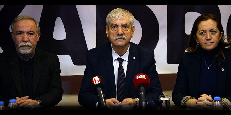 DİSK Genel Başkanı Kani Beko: Ayrımsız, şartsız kadro talebimiz devam edecek