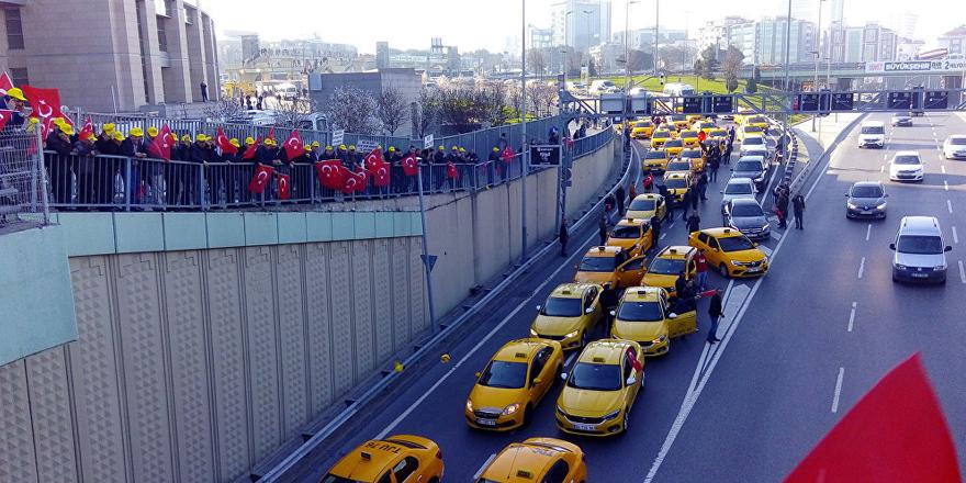 Uber şoförleri: Devlet bu çeteye teslim olmamalı